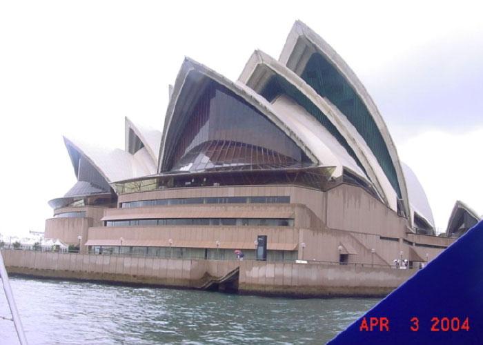 Opera de Sidney en viaje a Australia